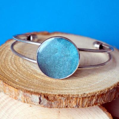 Barceletarg bleu gris nacre