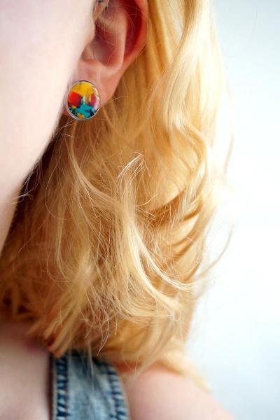 Bo cercle multicolore