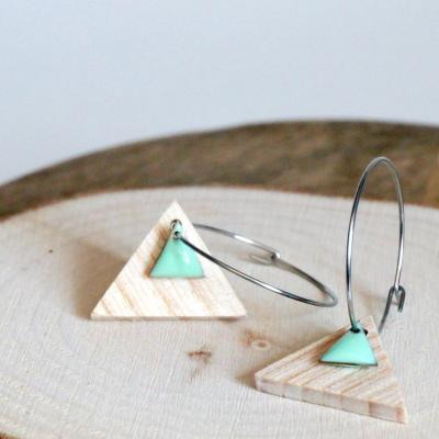 Bo e mail triangle menthe