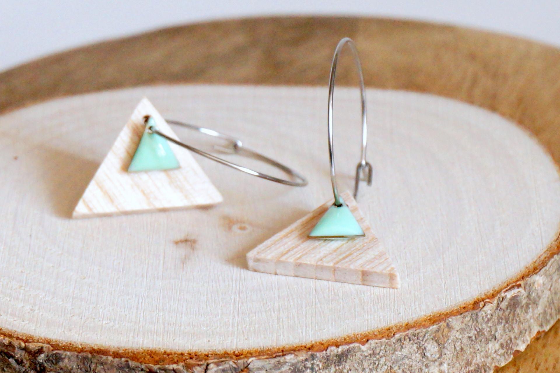 Bo e mail triangle menthe1