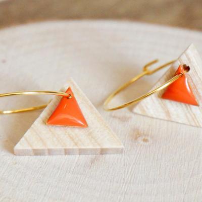 Bo e mail triangle orange