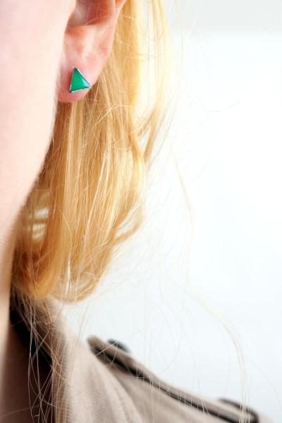 Bo mini triangles vert