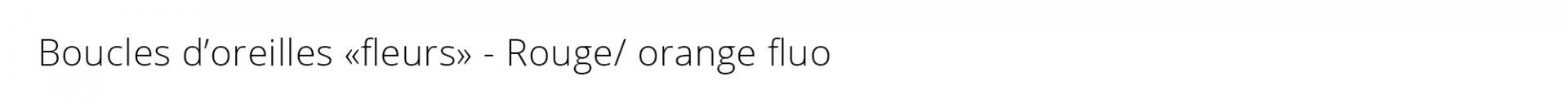 Titre bo fleurs fluo