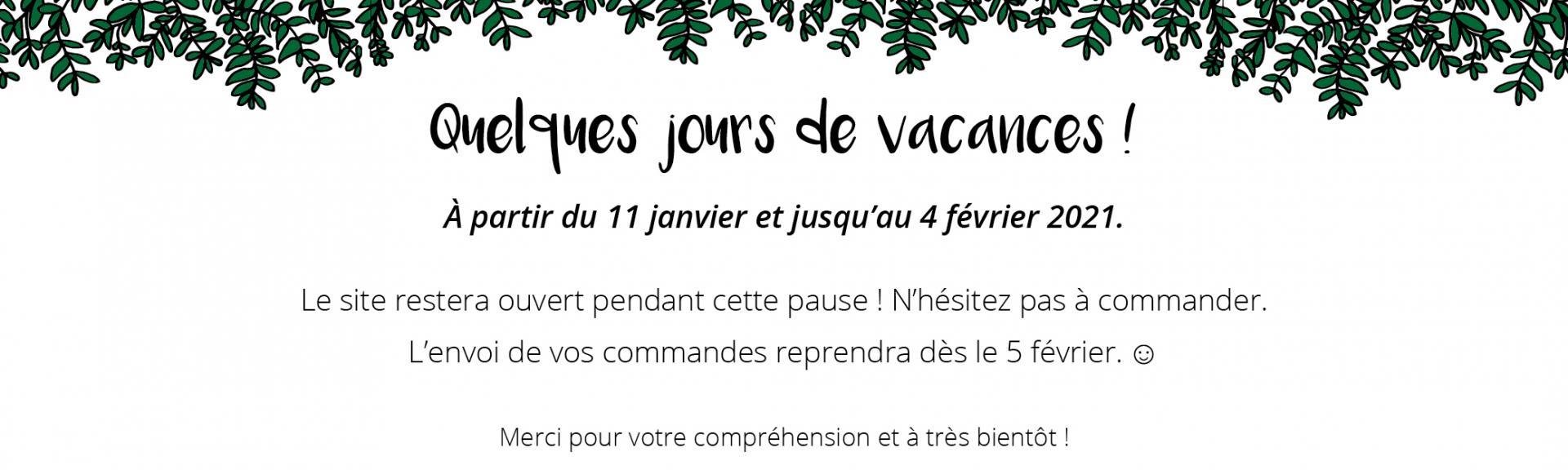 Vacances janvier
